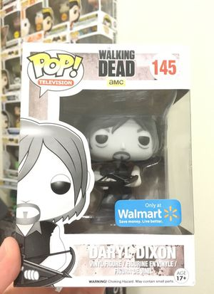 Walmart Exclusive DARYL DIXON Pop! for Sale in Houston, TX