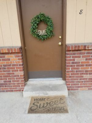 Wreath and door mat for Sale in Denver, CO
