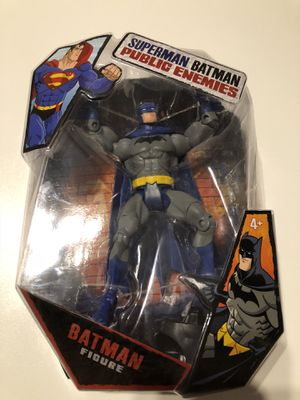 Batman Public Enemies 6 in. Collectible Action Figure for Sale in Coral Gables, FL