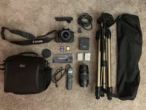 Canon Rebel T5i with extras for Sale in Mesa, AZ