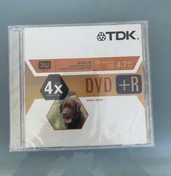 TDK Systems DVD+R 4.7GB for Sale in Hollywood, FL