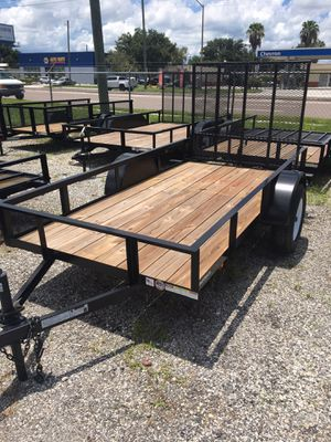 5X10 UTILITY TRAILER for Sale in Tampa, FL