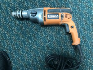 Drill , Tools-Power RIDGID .. Negotiable for Sale in Baltimore, MD