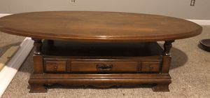 Solid wood coffee table for Sale in Glen Raven, NC