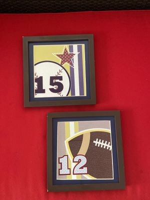 Wall decor 2 peaces ( Kids room) for Sale in Opa-locka, FL