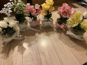 Faux Flower Vases/Centerpieces for Sale in Washington, DC