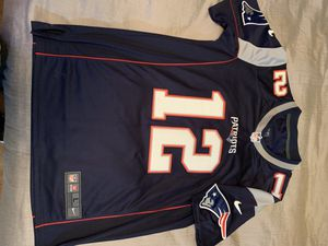 "New England Patriots ""the GOAT"" Brady Jersey for Sale in San Antonio, TX"