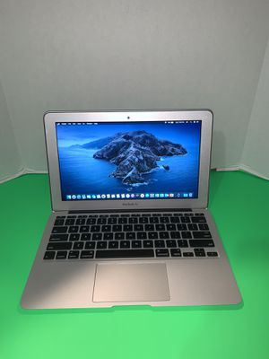 Apple MacBook Air laptop year 2012 | 11.6 in | i5 | 256 SSD | 8GB | macOSX Catalina 10.15 | New Battery + Charger + Office 2016 for Sale in Doral, FL