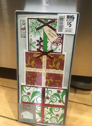 16 various Christmas cards for Sale in Sunnyvale, CA