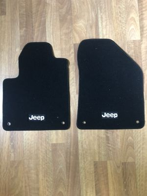 JEEP FRONT FLOOR MATS- like new for Sale in Lacey, WA
