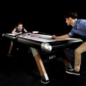 ESPN Belham 8 Ft. Air Hockey Table with Overhead Scorer and Table Cover for Sale in Columbus, OH