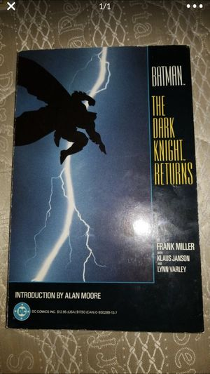 Batman The Dark Knight Returns Graphic Novel for Sale in Sarasota, FL