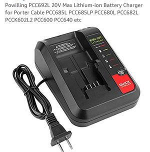New in box 20volt battery charger for Sale in Newark, OH