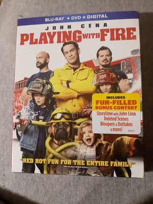 Playing With Fire( Blu Ray+Dvd+Digital) New Sealed John Cena for Sale in Hamlet, IN