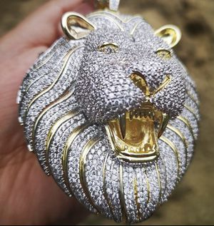 Iced out Lion pendant for Sale in Las Vegas, NV