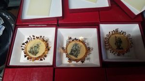 the Hummel gold Christmas ornament set for Sale in Palm Harbor, FL