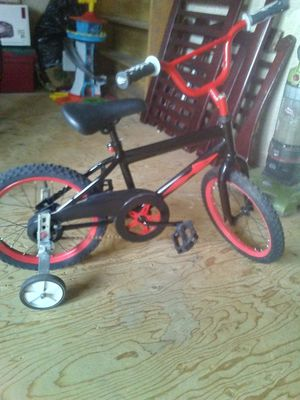 - brand new toddler bike with training wheels never been men please give me a call at {contact info removed} for Sale in Payson, AZ