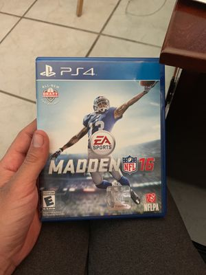 Madden nfl 16 for Sale in Hialeah, FL