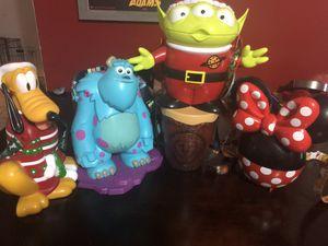 Seasonal Disney World Popcorn Buckets for Sale in Tampa, FL