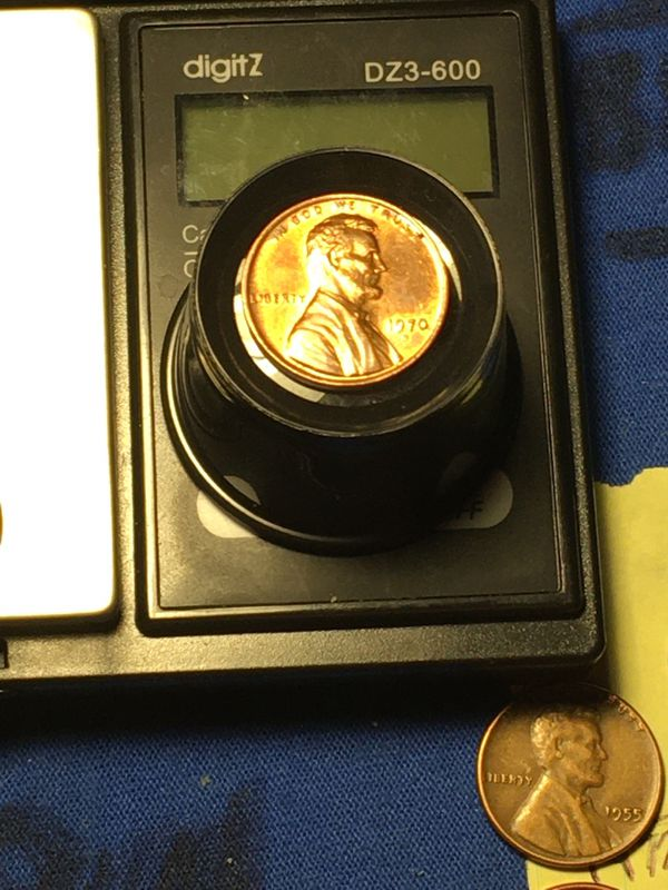 1970S large date DDO Penny