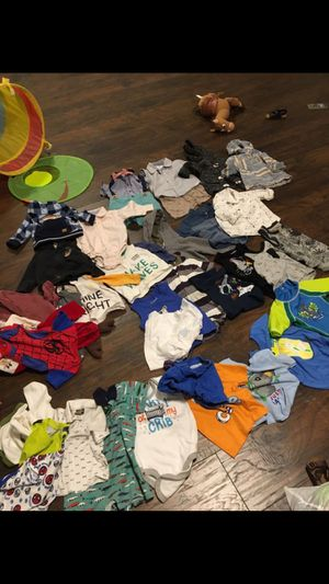Boy clothing, toys , changing table and crib for Sale in North Little Rock, AR