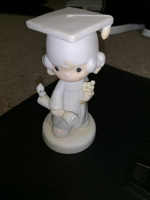 Vintage Precious Moments The Lord bless you and keep you graduation figurine gift mint condition for Sale in Escondido, CA