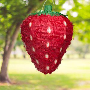 Strawberry Pinata, Red, 16in x 18in for Sale in Huntington Beach, CA