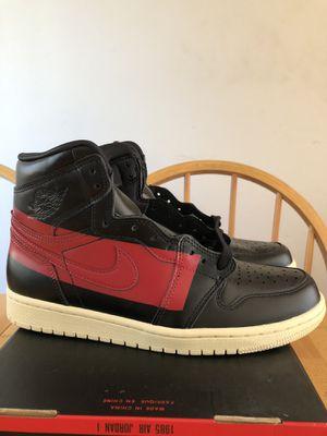 Brand new Nike air Jordan 1 high of defiant couture premium shoes men's size 8, women's 9.5 for Sale in La Mesa, CA
