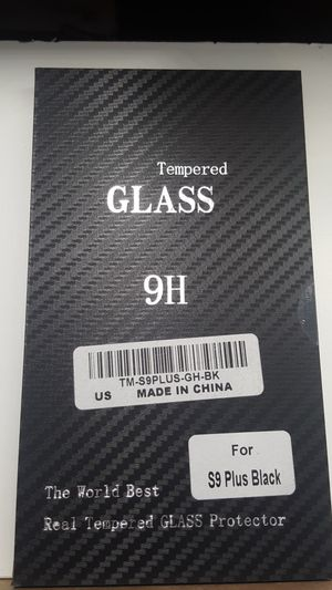 Tempered glass for samsung galaxy s9+ plus full cover 6firm shiping only for Sale in Phoenix, AZ