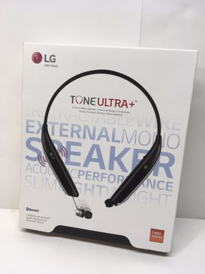 Refurbished LG Tone Ultra HBS-820s Bluetooth Headset Black/Silver for Sale in Grandview, MO