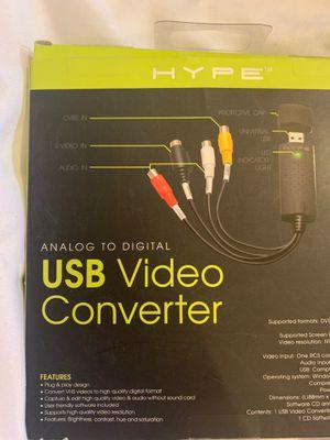 BNIB HYPE USB VIDEO CONVERTER for Sale in Endicott, NY