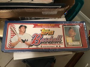 TOPPS BASEBALL 2006 COMPLETE SET for Sale in Cape Coral, FL