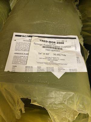 TRED-MOR 2568 Sponge Rubber Carpet Cushion for Sale in Portsmouth, VA