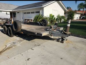 Car trailer, car hauler, flatbed trailer. Trailer for Sale in Menifee, CA
