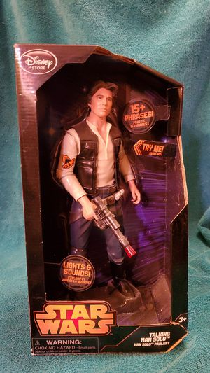 Star Wars Collectible Action Figure - Han Solo for Sale in Las Vegas, NV