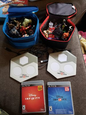 Disney Infinty 2.0, and 3.0 PS3 for Sale in Everett, WA