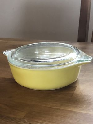 Vintage Yellow Pyrex Casserole Dish #471 for Sale in Falls Church, VA