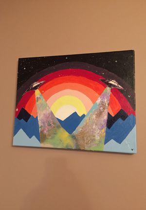 Spaceship Painting for Sale in Kearney, NE