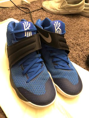 9.5 Kyrie Irving basketball shoes (blue) for Sale in Las Vegas, NV