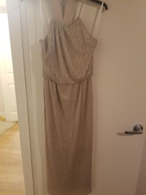 Golden ball gown prom dress for Sale in Tampa, FL