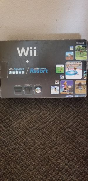 Nintendo wii game system for Sale in Lake Stevens, WA