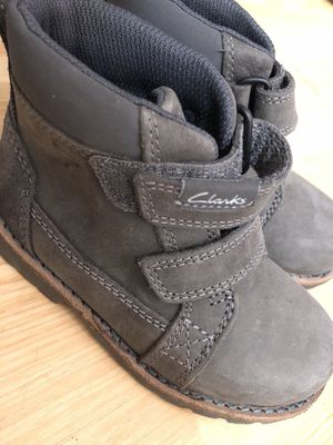 Clark's boots size 7c toddler for Sale in Boston, MA