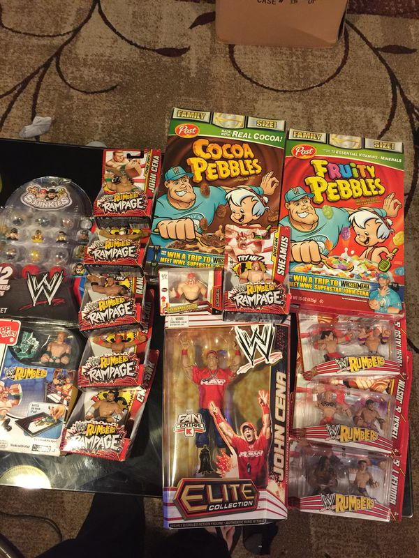 WWE toys /collectibles