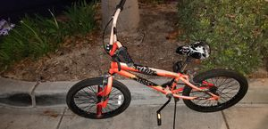 Kids teens red orange bike with pegs for Sale in Chula Vista, CA