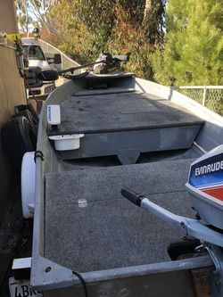 10 Foot Aluminum Bass Boat for Sale in San Clemente,  CA