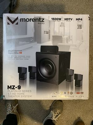 Morentz Audio Home surround sound system for Sale in Lubbock, TX