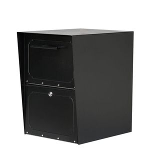 Oasis Black Post-Mount or Column-Mount Locking Drop Box for Sale in Carrollton, TX