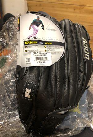 """Wilson A500 baseball glove 12.5"""" for Sale in Rockvale, TN"""