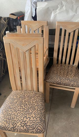 6 chairs for Sale in Fontana, CA