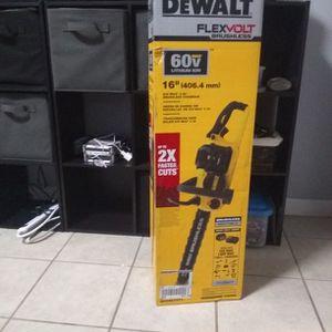 Dewalt Flex Volt Chainsaw for Sale in Kent, WA